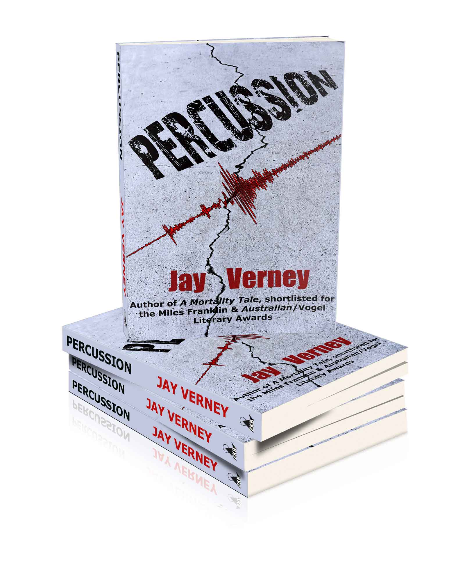 Percussion book cover