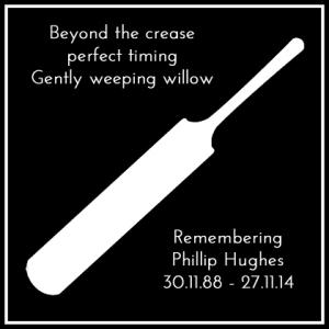 Phillip Hughes remembrance poster