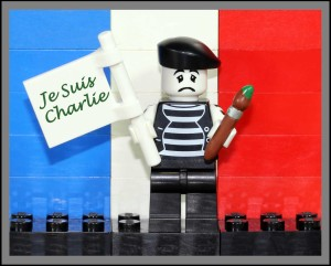 Je Suis Charlie with Mime