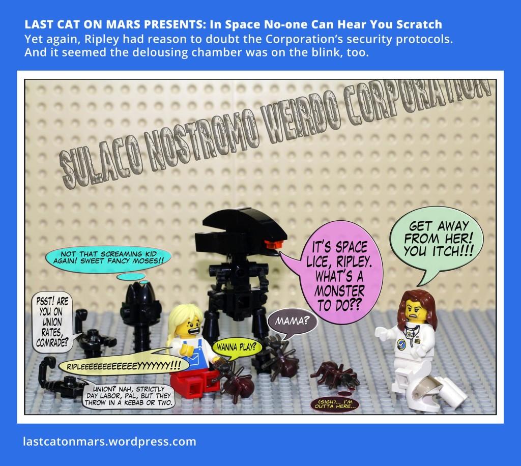 Last Cat On Mars image Ripley comic